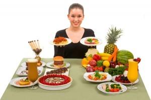 La vostra dieta con un alimentazione sana